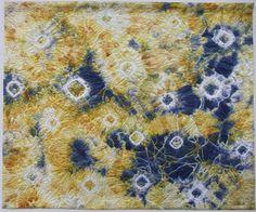 "SAQA Member Art - WOW! This is very beautiful - Maggie Vanderwelt (Ontario, Canada) æSnowfall in Sunlight"" from My Corner of the World."