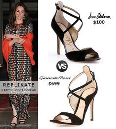 fe6057d8aff1 Shop Gianvito Rossi Sisely Black Suede Sandals as seen on Duchess of  Cambridge. Copy Princess Kate s style with the best repliKate shoes for  less!