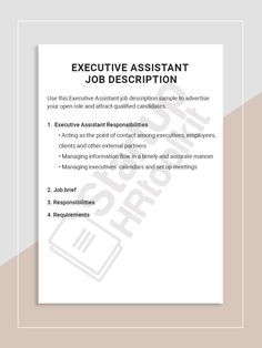 21 Best Executive Assistant images in 2015 | Administrative
