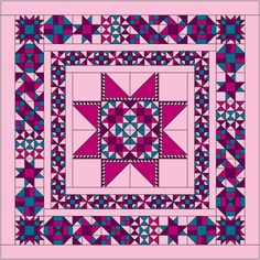 Block of the Month 2014, www.quiltaddictsanonymous.com