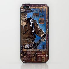 Stevie Ray Vaughan iPhone & iPod Skin by Ray Stephenson - $15.00