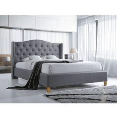 Aspen Ágykeret Szürke 180 cm A nyugodt éjszakákért válaszd az Aspen ágykeretet! Gyönyörű kialakítása nem csak a hálószobát dobja fel, az Aspenre a kiváló minőség is jellemző. A letisztult, mégis különleges kivitelezésű darab tökéletesen illeszkedik skandináv és modern stílusú otthonokba is