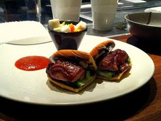 Fried duck leg buns from Serpico. You will talk about them for weeks.