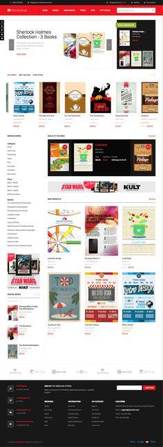 JM Bookshop Magento Bookstore Theme