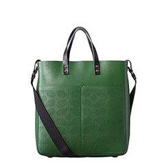 Sixties Stem Punched Burdock Bag Spruce