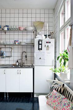 Hos inredningsbloggen och stylisten Tant Johanna - Sköna hem