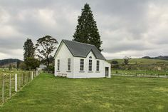 Old school house. Stanley Brook, Tasman, New Zealand