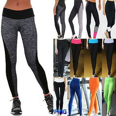 Back To Search Resultswomen's Clothing Fashion Women Lady Fitness Casual Elastic Mesh Leggings S72 Leggings