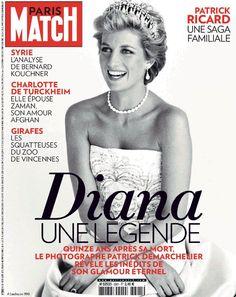 PARIS MATCH Magazine August 23rd 2012 : Diana Une Legend