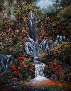 Waterfall-Fantasy.jpg (391×500)