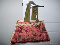 Chocolate Roses Bag.  Pattern $15.95