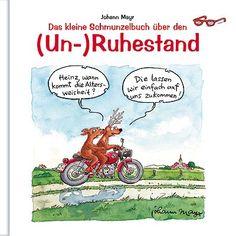 #Geschenkbuch (Un-) #Ruhestand mit lustigen Cartoons.