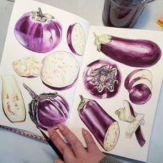 trendy gsce art sketchbook layout food - A Level Art Sketchbook - Gcse Art Sketchbook, Sketchbooks, A Level Art Sketchbook Layout, Sketchbook Ideas, Vegetable Drawing, Natural Form Art, Natural Forms Gcse, Art Alevel, Observational Drawing