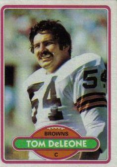 1980 Topps #129 Tom DeLeone Front