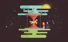 Illustrations by Martín Azambuja, via Behance