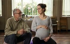 Jim Broadbent and Michelle Dockery in The Sense of an Ending