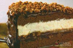 Receita de Bolo gelado crocante - Comida e Receitas