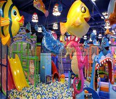 Undersea World Indoor Playground System | Cheer Amusement CH-TD20150112-2 - playgroundcheer.com