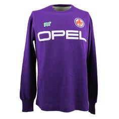 Fiorentina training football shirt (medium - mid very rare Vintage Football Shirts, Retro Football, Football Images, Classic Image, Football Boots, Training, Medium, Sweatshirts, Fashion