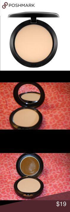 Mac powder plus foundation NW18 Light beige with neutral undertone for light skin 15 g / .52 US oz MAC Cosmetics Makeup Face Powder