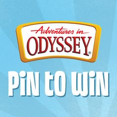 Enter to win $100 worth of Adventures in Odyssey audio stories, books or DVDs. You build your own prize pack! Click to enter on our Facebook page #contest #pintowin #sweepstakes