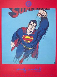 Andy Warhol 'Superman'