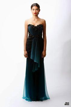 Bonitos vestidos de moda largos para señoras | Colección Vestidos 2015