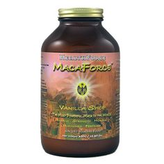 MacaForce Vanilla: MacaForce™ takes Maca root (Lepidium meyenii) to its full potential. Maca is an adaptogenic root famous for longevity, endurance and fertility, with all of the nutrients and balance nature intended, yet contains the potency of an extract. Carefully selected enzymes, probiotics, herbs, and energetics provide unprecedented full spectrum bio-availability and therapeutic value never before possible...until now.