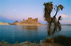 Ounianga Serir, Chad | Ounianga Serir, the third largest lake in northern Chad: Massive sand ...