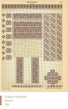 Muscel Decoration Cross Stitch Borders, Cross Stitch Patterns, Pattern Books, Pattern Art, Embroidery Motifs, Diy And Crafts, Sewing Patterns, Projects To Try, Knitting