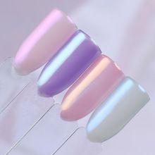 1 Box Русалка перламутровый блеск ногтей Порошок Shimmer Chrome Пигменты блеск пыли Маникюр Nail Art Украшение 8 цветов(China (Mainland))