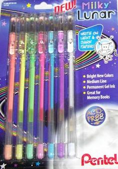 these were the best! milky writers
