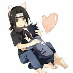 Itachi and Sasuke Sasuke E Itachi, Naruto Minato, Naruto Anime, Sarada Uchiha, Naruto Cute, Naruto Funny, Naruto Shippuden Anime, Sasunaru, Otaku