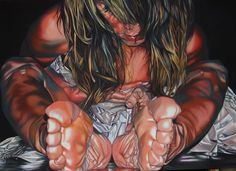 Zingarelli Laura I WANT TO ME acrilico su tela 100x70cm