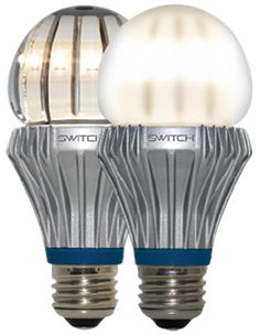 Decent looking LED bulb.  Supposedly puts out same light color as regular edison- test. 75 bulb @  Switch lighting