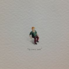 Day 183 : Train set character guy; invisible chair.
