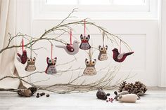 Baubles and birds (House and Garden)