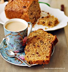 ciasto Morning Glory Banana Bread, French Toast, Breakfast, Food, Meal, Eten, Meals, Morning Breakfast