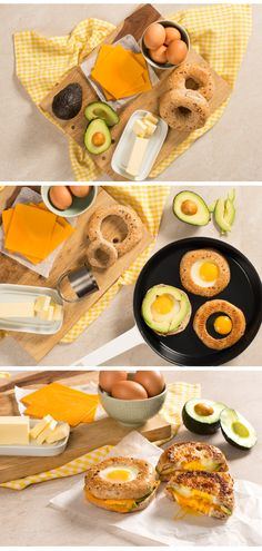 All of the breakfast essentials in one sandwich! Perfect for a weekend brunch, or as a portable weekday breakfast.