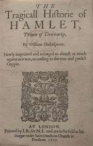 Hamlet! Revenge is a dish best served cold