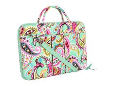 vera bradley tutti frutti laptop case - Got it for my laptop and I love the pattern!  The case itself is so nice
