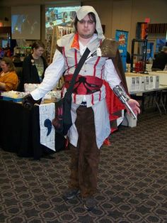 #AssassinsCreed Costume at the #PCMCon2015 #scifi #comic convention for all the fans!