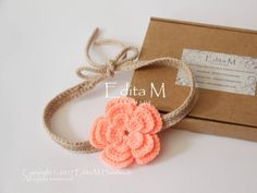 Buy Now Crochet baby tieback flower baby headband baby girl. Baby Girl Sandals, Crochet Baby Sandals, Baby Girl Shoes, Baby Girl Hair Accessories, Crochet Hair Accessories, Gifts For New Moms, Baby Girl Headbands, Girl Gifts, Etsy