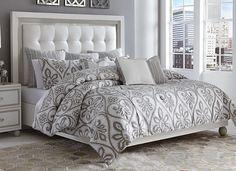 Combo cama: colchón, sommier, almohadas, sábanas, acolchado y respaldo capitoné