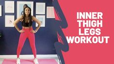 Inner Thigh Legs Workout - YouTube At Home Workouts For Women, Home Exercise Routines, Thigh Exercises, Inner Thigh, Body Weight, Fit Women, Thighs, Legs