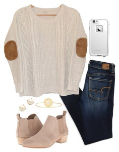 """""""got asked to homecoming today"""" by mmorgann ❤ liked on Polyvore featuring MICHAEL Michael Kors, American Eagle Outfitters, Urban Outfitters, LifeProof, Kate Spade and Sarah Chloe"""