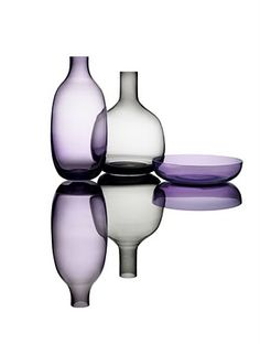 "Simplicity Glasswork by Cecilie Manz  ""The name Simplicity refers to the simple and aesthetic shapes."""