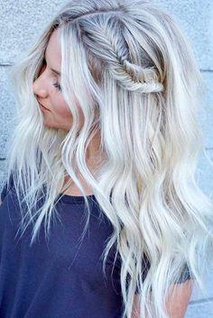 Nouvelle Tendance Coiffures Pour Femme 2017 / 2018 24 Idées Bombshell pour les cheveux blonds avec des points culminants Balayage couleur
