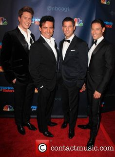 Il divo sebastian and wife renee have twins rose luca born in 2007 and jude born this year - Il divo cast ...