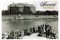 Victoria City, Hotel Victoria, Fairmont Empress, Victoria British Columbia, Canadian Pacific Railway, Pacific Northwest, Historical Photos, Luxury Travel, Travel Photos